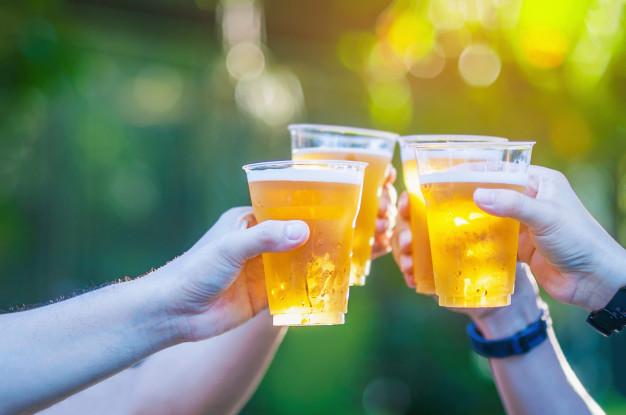 øl på festival