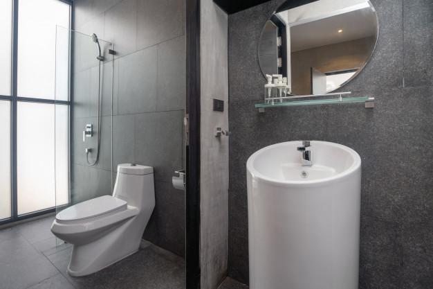 pænt badeværelse