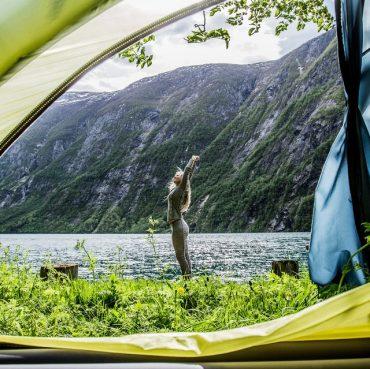 Camping nær Silkeborg